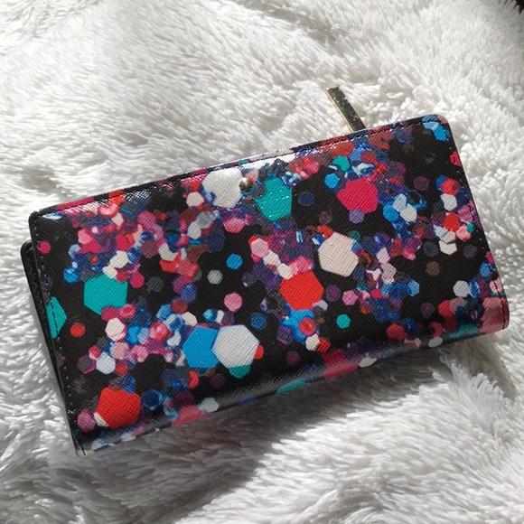 kate spade Handbags - ♠️Kate Spade Leather Jewel Stacy wallet ♠️